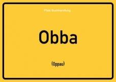 Obba (Oppau) - Pfälzisch Postkarte