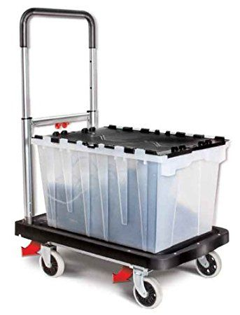 Charming Magna Cart Flatform 300 Lb Capacity Four Wheel Hand Truck The Magna Cart  Flatform Folding Four Wheel Platform Cart Can Be Taken And Stored Anywhere!