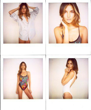 Lily Aldridge Comp Card - love her!