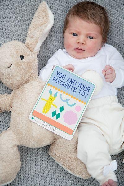 b3f95228123 ΠΑΙΧΝΙΔΙ :: Milestone: Αναμνηστικές κάρτες :: Milestone: 30 Φώτο-Κάρτες  Εγκυμοσύνης & Νεογέννητου