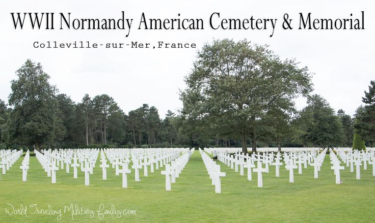 d day memorial cemetery