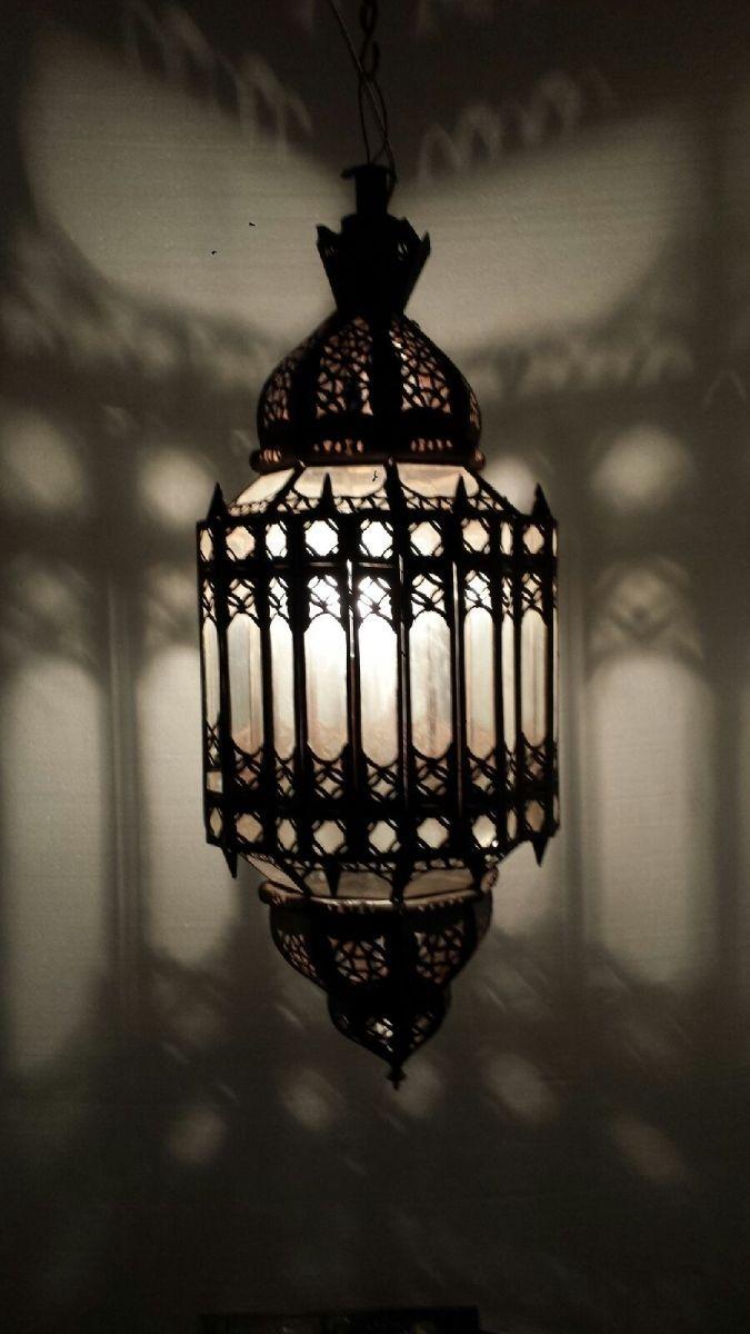 Bungalow Chandelier Part - 25: Moroccan Clear Glass Chandelier Moorish Lantern Spanish Lighting Art Deco