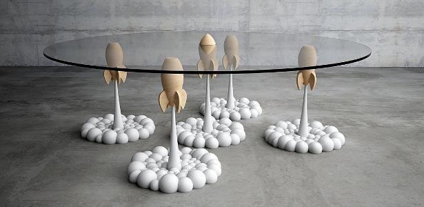 De tapete quot;voadorquot; a espaço sideral: designer cria peças que fogem ao comum - UOL Estilo de vida