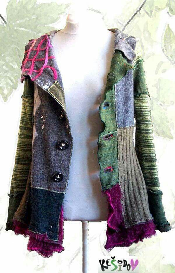 25 best ideas about upcycled sweater on pinterest for Jeans upcycling ideas