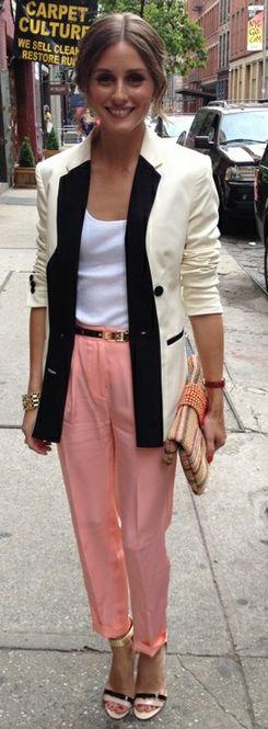 Olivia Palmero: Jacket - Reiss Purse - Julia Parker Shoes - Boutique9 Pants - Tibi Shirt - Topshop Tibi Silk-crepe tapered pants Boutique 9 Women's Doetzen Sandal Boutique 9 Sandals - Doetzen Ankle Strap Boutique 9 Women's Doetzen Sandal Basic Scoop Front Vest