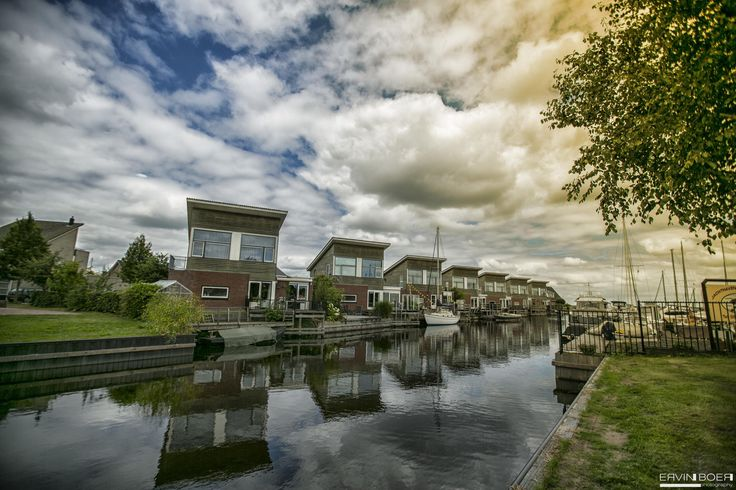 Echtenerbrug Hafen by Ervin Boer on 500px