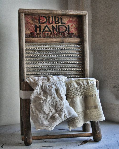16x20 Print  Vintage Laundry Room Decor Sign Primitive Digital Download Photograph Commercial Use. $10.00, via Etsy.