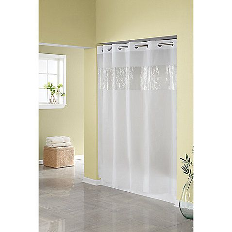 siglo best shower curtain for clawfoot tub. Hookless  Frost 71 Inch W x 74 L Shower Curtain 13 best Home Bath G ShwrC clear images on Pinterest