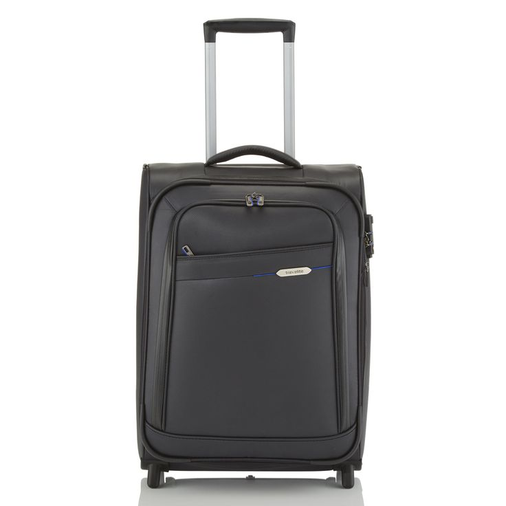 #Handgepäck travelite Scuba bei Koffermarkt: ✓wasserabweisender Nylon- #Koffer ✓2 Rollen ✓erweiterbares Volumen ✓IATA-konform: 55x38x20 cm  ⇒Jetzt kaufen