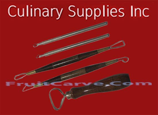 Pumpkin Carving Tools: Culinary Supplies Inc specializing in Fruit Carving Knives, Garnish Tools, and other  Fruit Carving Supplies