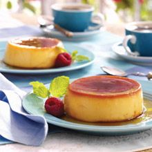 We just love coconut! This Coconut Flan recipe features the fruit twice—first, with splashes of GOYA® Coconut Milk and, again, with smooth GOYA® Cream of Coconut.