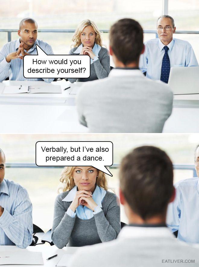 Job Interview Nailed It Haha Funny Stupid Funny Memes Funny Memes