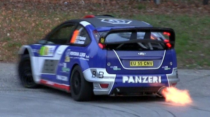 Ford Focus WRC Compilation - Sound, Flames & Anti-Lag