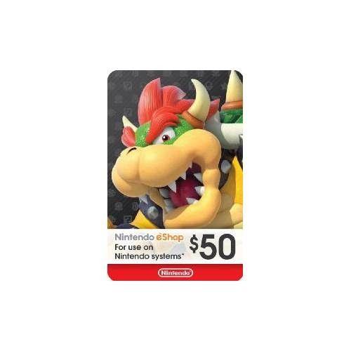 Nintendo eShop Gift Card. Any amount.