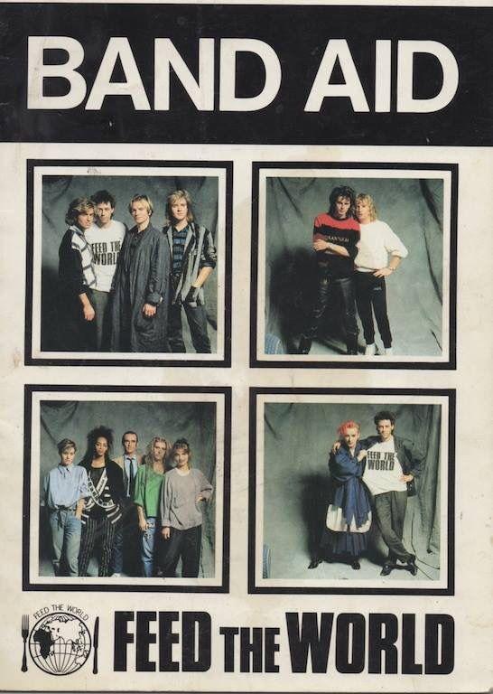 Band Aid 1984 ❤️