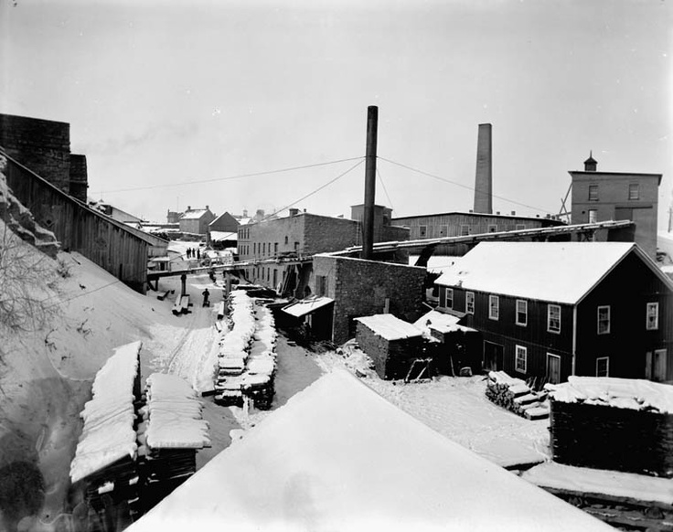 Cement Works of C.B. Wright, 1 Britannia Street, Hull, P.Q. 1892. (William James Topley/Library and Archives Canada/Pa-033941)