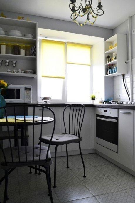 Дизайн интерьера кухни 5 кв.м. - Дизайн интерьеров | Идеи вашего дома | Lodgers