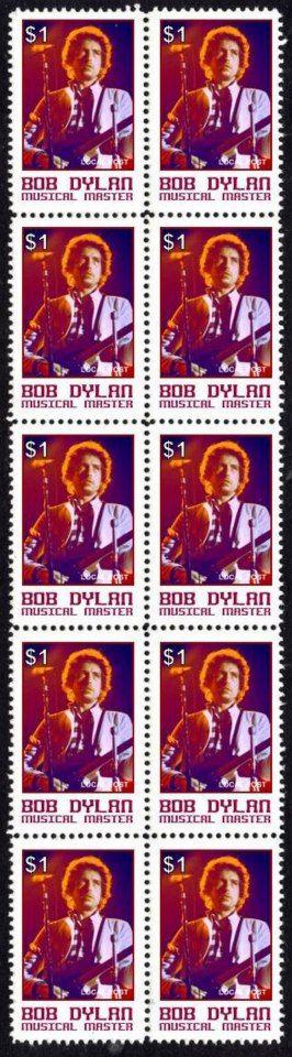 43- bob dylan stamps