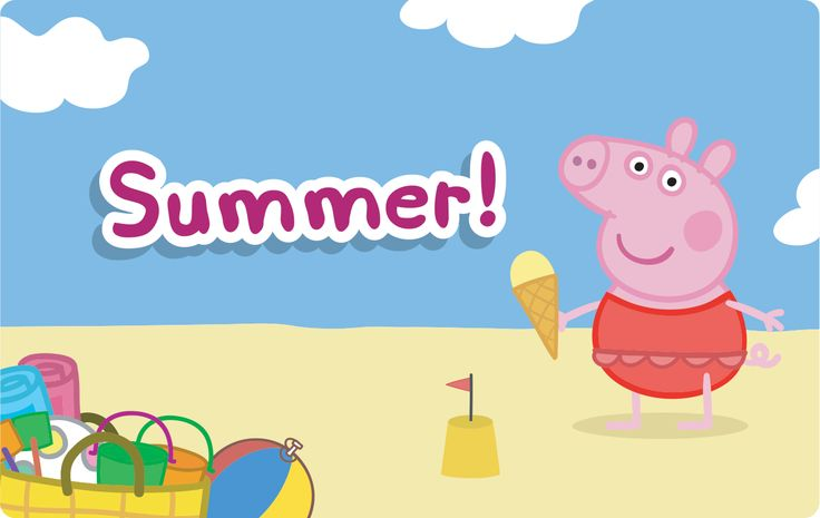 71 Best Summer With Peppa Images On Pinterest Little