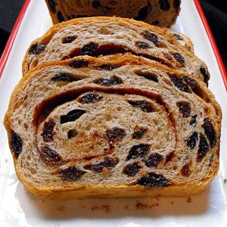 It's National Raisin Day (4/30/12) so let's make Cinnamon Swirl Raisin Bread !!