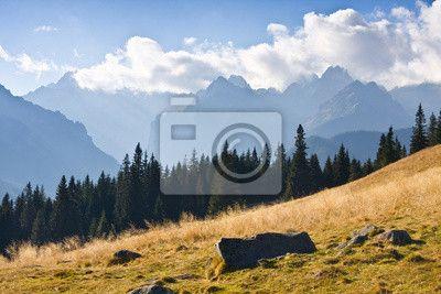 Fototapeta górski krajobraz, Tatry, Polska