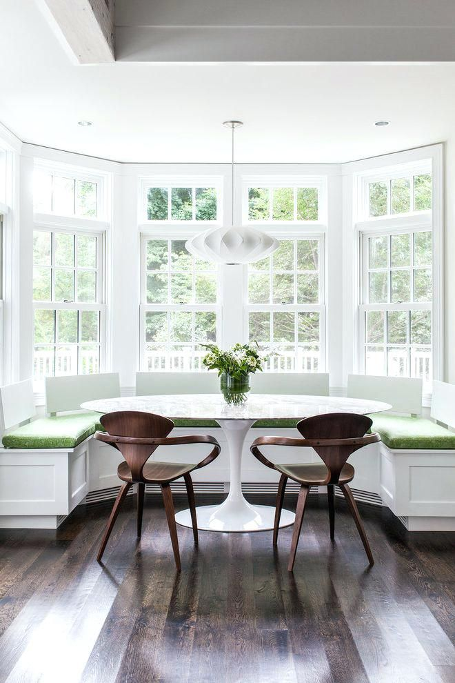 Architecture Bay Window Breakfast Nook Throughout Decorations 14