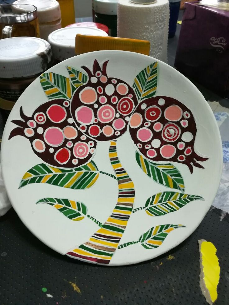 Diy Ceramic Plate Painting
