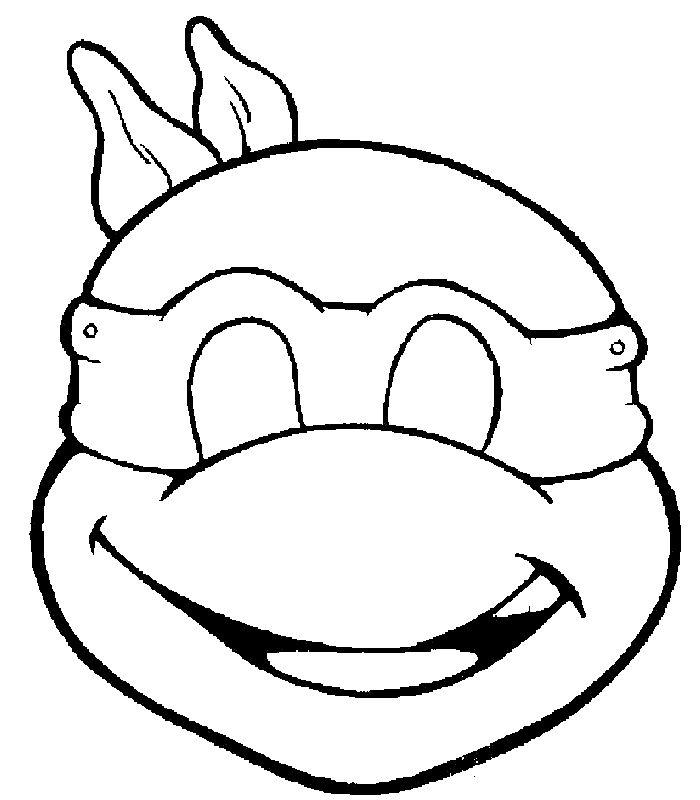 masque tortue ninja découpage a imprimer                                                                                                                                                                                 Plus