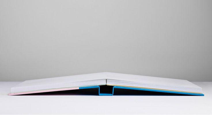 Lay flat hardback binding