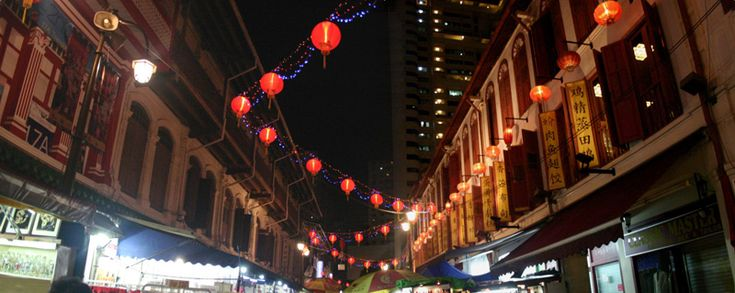 Singapore's Chinatown - Singapore, Central Area