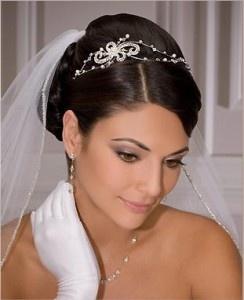 veil tiara