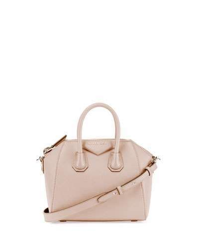 5ced9e1aa2c Givenchy Antigona Mini Sugar Satchel Bag, Nude Pink | Purses in 2019 ...