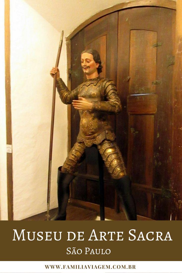 O Museu de Arte Sacra de São Paulo foi declarado Patrimônio Mundial da Humanidade pela UNESCO e é uma atração interessante pra se conhecer em São Paulo.