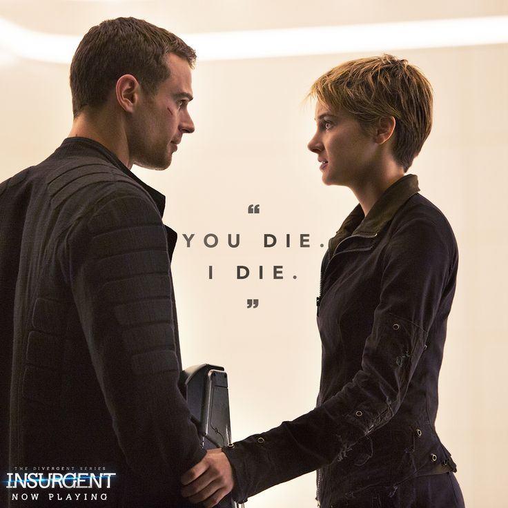 Four and Tris are in the fight, together. Take your bae to see #Insurgent! http://insur.gent/tix