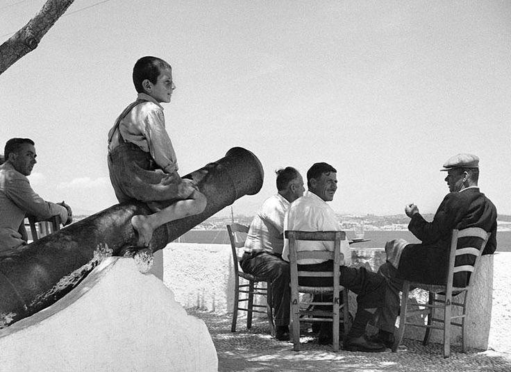 Σπέτσες 1955 Φωτ.Δημήτρη Χαρισιάδη