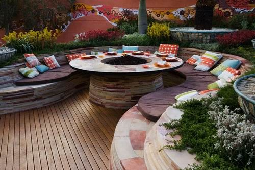 Outdoor Patio in Your Back Yard