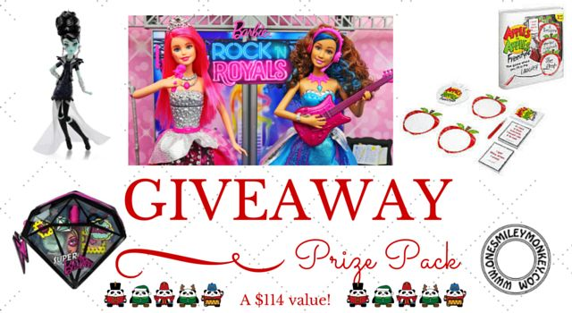 Mattel Holiday Gift Guide Part 2 {Prize Pack Giveaway}