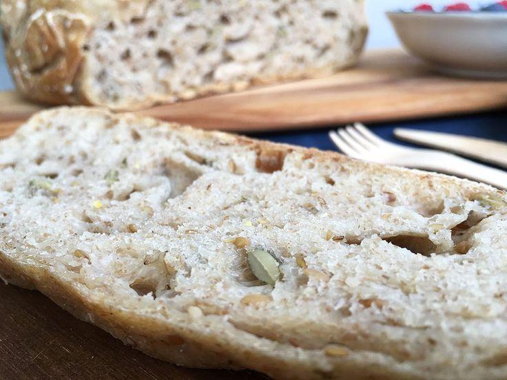Pan integral sin amasado - Blog decoración estilo nórdico - delikatissen