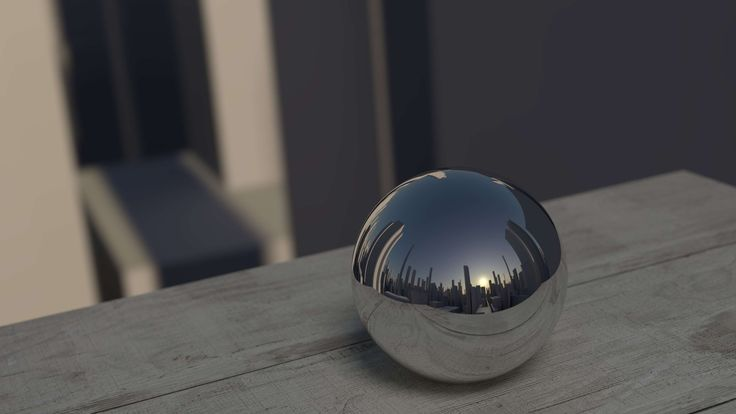 #ball #city #metal #mirror #mirror image #mirroring #reflection #shiny #sunrise #sunset #table #wooden