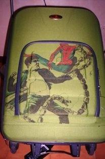 Spiderman VS DocOck - suitcase