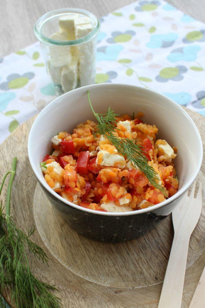 Rote-Linsen-Salat © ulla trulla backt und bastelt