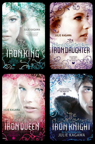 The Iron Fey Series by Julie Kagawa. Amazing series. Love how they incorporated technology. It's insane.. seriously