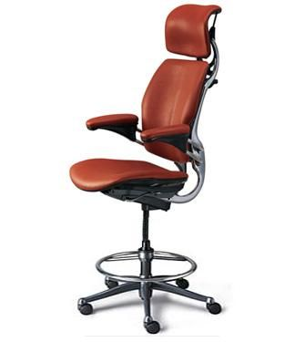 The Humanscale Freedom Drafting Chair With Headrest Is Designed To Give The  Maximum Ergonomic Benefit To