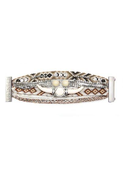 E-shop Hipanema - Bracelet Manchette Brodé Kansas Marron Hipanema pour femme sur Place des tendances Groupe Printemps. Retrouvez toute la collection Hipanema pour femme.
