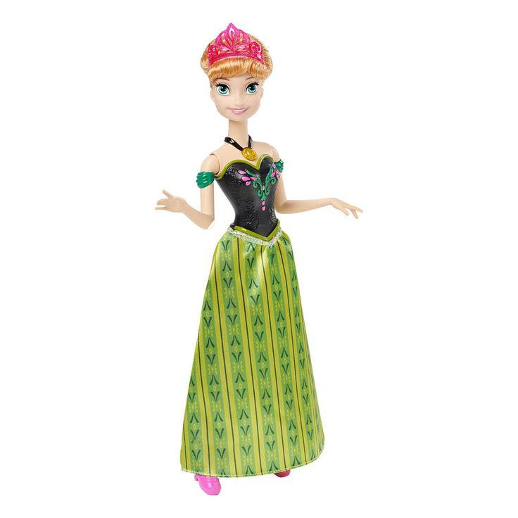Papusa Disney Frozen - Anna Canta