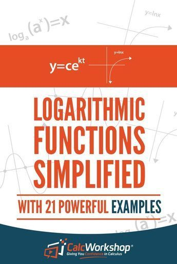 Logarithmic Functions Simplified - TERRIFIC video lesson that covers the properties for both common and natural logarithms, how to expand and condense a logarithm, and finally walks you through the change of base formula. Perfect for new teachers as a review if it's been awhile since you taught this topic. Excellent for high school and middle school math courses. Check it out today! #homeschooling #teaching