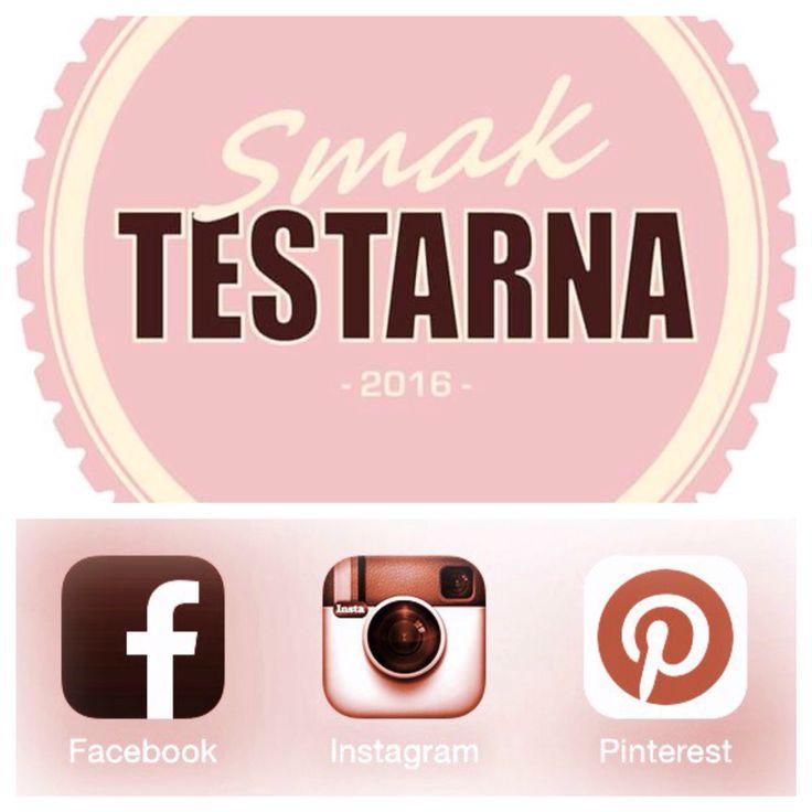 Smaktestarna ger sig åter in på nya sociala medier. Kul att så många redan följer oss på vår resa. För att anpassa oss till era önskemål finns nu Smaktestarna, förutom på bloggen www.smaktestarna.com, under samma namn på Facebook, Instagram och nu även på Pinterest.  Följ/gilla våra sidor så missar du inget av våra spännande test. Gilla , # / @ eller pin är även trevligt om ni uppskattar det vi gör. Tips på önskade tester eller bra ställen att besöka välkomnas varmt.
