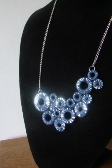 Colar Aros Azul/Blue Aros Necklace