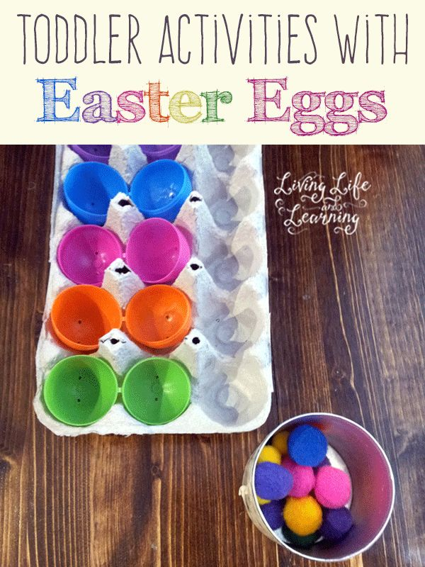 Toddler activities with easter eggs fun games colors for Educational crafts for toddlers