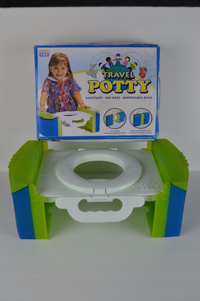 #Portable #Potty #Chair #Children #Toilet #Seat #Outdoor #Kids #Folding #Travel #Potty  #CoolGear#Clean